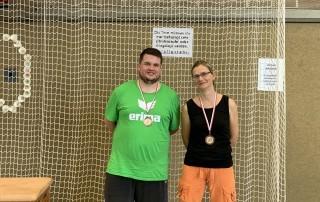 Dritte Badminton Mixed